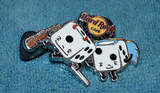 HARD ROCK CAFE 2014 Foxwoods Angel and Devil Dice Pin # 77641