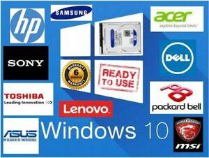 "3.5"" SATA Internal Laptop Hard Drive Disk HDD Windows 10 Loaded"
