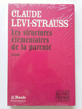 STRUCTURES ELEMENTAIRES PARENTE 2009 STRAUSS LIVRES ONT CHANGE LE MONDE NEUF