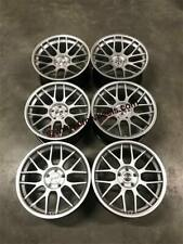"19"" Strom STR2 RC CONCAVE Alloy Wheels Hyper Silver BMW E90 E91 E92 E93 3 Series"