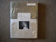 KYLIE AT HOME LEOPARD IVORY SINGLE DUVET COVER BNIP