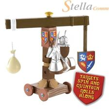 Mike the Knight Figure with Accessory Jousting Training Machine Set - Quintain