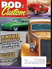 Rod & Custom Magazine July 2010 Gene's Restored Shop Truck & The Jade Rival!