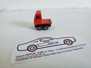 1973 Matchbox Lesney Articulated Truck Semi - Red - England