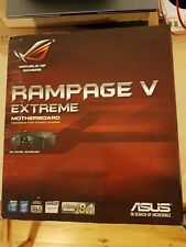 Motherboard Bundle ASUS X99 Rampage V Extreme boxed with OC key, Intel i7 5960X