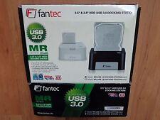 """FANTEC USB3.0 DOCKING Station 2,5"""" & 3,5""""HDD black MR Serie,Netzteil & USB Kabel"""