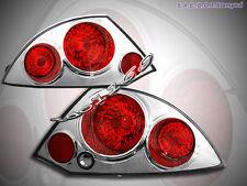 00-02 Mitsubishi Eclipse Altezza Tail Lights Chrome G2