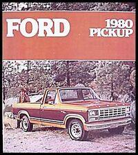 1980 Ford Pickup Truck Sales Brochure F150 F100 Ranger Custom Original 80