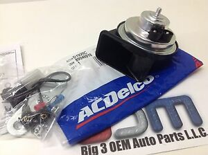 Chevrolet GMC Pontiac Cadillac Buick Oldsmobile Low Note Horn Kit new OEM