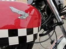 """2"""" x 7 feet Vintage Motorcycle Cafe Racer Decal Kit Gas Tank Side Covers Fenders"""