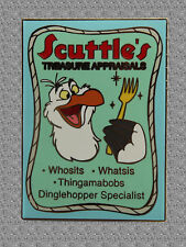 Scuttle Business Ad Pin - Little Mermaid - Disney Auctions Pin Le 100
