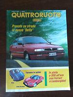 Quattroruote n 450 aprile 1993 - Lancia Delta, Fiat e Alfa Romeo Spider