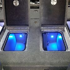 Blue Water Led - Quad Beam Livewell / Cooler Led Light Pair- Red