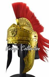 Mittelalterlicher korinthischer Wikingerhelm König Leonidas spartanische Rüstung