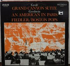 Grofe Grand Canyon Suite Arthur Fiedler 33RPM VICS1423  10117LLE