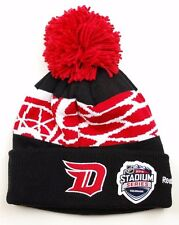 Detroit Red Wings Reebok 16 NHL Stadium Series Team Pom Knit Hockey Hat Beanie