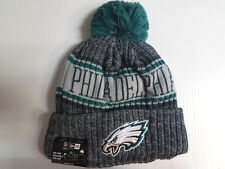 Philadelphia Eagles New Era Knit Hat Graphite 2018 Sideline Beanie Stocking Cap