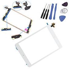 iPad Mini Display Scheibe Weiß IC-Chip Touchscreen Homebutton Glas +Werkzeu