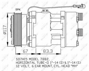 NRF 32779 COMPRESSOR AIR CONDITIONING