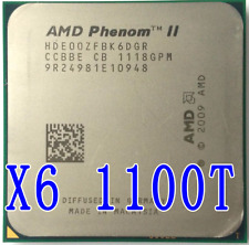 AMD Phenom II X6 1100T 3.3GHz Six Core (HDE00ZFBK6DGR) Processor