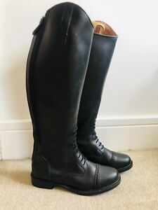 Horse Riding Leather Boots Size 7