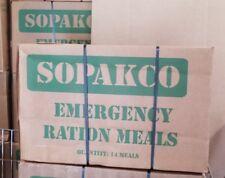 1 Case DENTED Sopakco AUGUST BLOW OUT SALE 14-MRE-Meals Emergency-Survival-MiliT