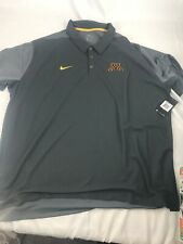 Minnesota Golden Gophers Nike Mens Polo Short Sleeve Gray 4XL NWT