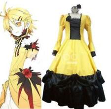 Vocaloid Rin Len Servant / Daughter of Evil Cosplay Dress, Size M/L