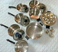 SALADMASTER Cookware Set - 21 Pcs T304S - GREAT Condition