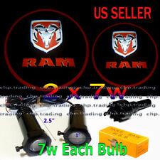 RAM 2x7w Ghost Shadow Laser Projector Logo LED Light Courtesy Door Step Dodge
