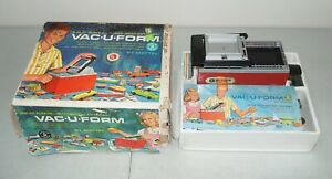 "New!! NOS!! Sealed!! Vtg 1962 MATTEL ""Vac-U-Form"" MACHINE TOY (Rare!) Thingmaker"