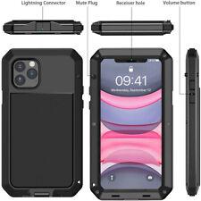 Heavy Duty Gorilla Metal Case Shockproof iPhone 11 Pro Max 6 7 8 Plus X XR 5S SE