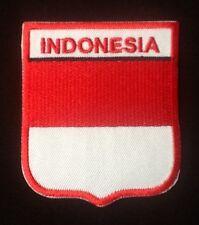 Indonésie indonsian NATIONAL Pays drapeau BADGE repasser patch à coudre écusson