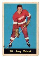1X JERRY MELNYK 1960 61 Parkhurst #28 EX- Detroit Red Wings