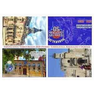 ESPAÑA ENTERO POSTAL 2020 TARJETA DEL CORREO EXPOSICIONES TERRITORIALES AZABACHE