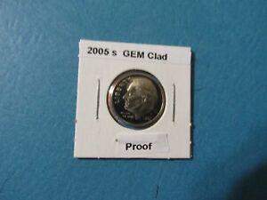 2005 10C GEM Proof Roosevelt Dime