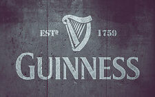 Guinness Stencil Art Painting Airbrush Bodywork Chopping Board Mylar A4