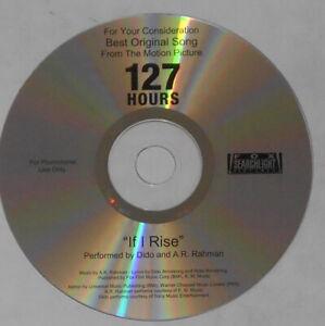 Dido, A.R. Rahman - If I Rise - 127 Hours U.S. promo cd