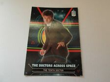 "Topps / BBC - Dr Who Doctors Across Space ""THE TENTH DOCTOR"" #10 Trading Card"