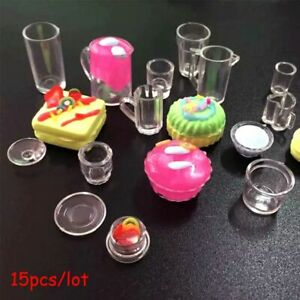 Room Toy Simulation Tableware Plate Set Dollhouse Miniature Cup Dish Bowl