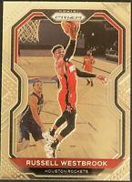 2020-21 Panini Prizm # 248 Russell Westbrook Houston Rockets Base