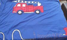 Fire Engine Kids Single Duvet Bed Cover Set