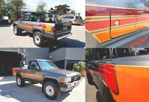 Toyota Hilux Surf N60 Retro Stripe Kit 2 Sides