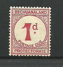 Album Treasures Bechuanaland Prot. Scott # J5  1p Postage Due Mint Hinged