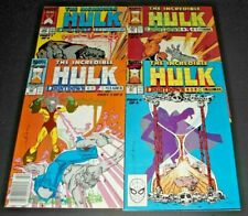 THE INCREDIBLE HULK # 364,365,366,367,VF (1989.MARVEL)  COUNTDOWN