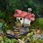 Miniature Old Boot Clodhopper Mushroom House Cottage/Gnome Fairy Garden 17006