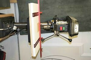 """Jet 15"""" Bench Drill Press with Woodpeckers Drill Press Table & Fence"""