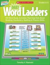 Interactive Whiteboard Activities: Daily Word Ladders (Gr. 4-6): 100 Word Study