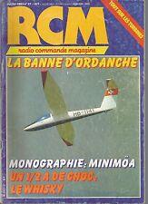 RCM  N°27 MOTEUR EGLAIR / LE STARLET / LE WHISKY / LE MINIMOA / SKY LARK