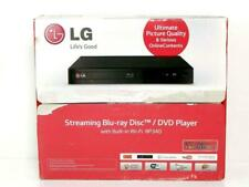 LG Blu Ray DVD Player BP340 In Box with Remote HDMI 1080p WiFi Streaming Apps